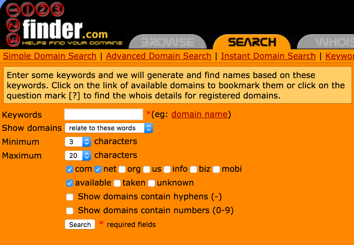 123finder-search-domain-names